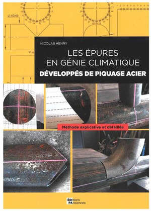 Les épures en génie climatique : développés de piquage acier : méthode explicative et détaillée