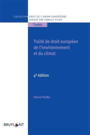 Traité de droit européen de l'environnement