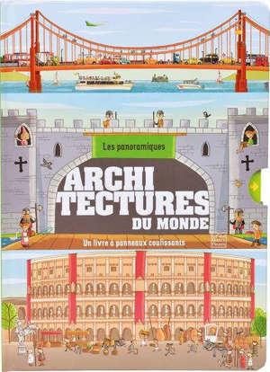 Architectures du monde : un livre à panneaux coulissants