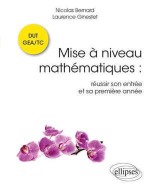 Mise à jour mathématiques DUT GEA-TC : réussir son entrée et sa première année