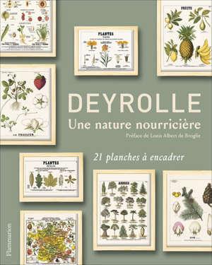 Deyrolle : une nature nourricière : 21 planches à encadrer