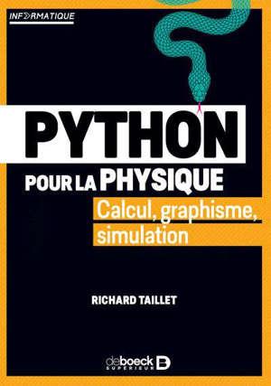 Python pour la physique : calcul, graphisme, simulation