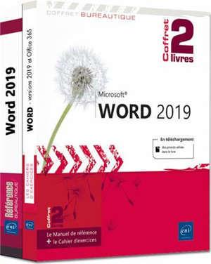 Word 2019 : coffret 2 livres