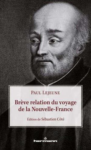 Brève relation du voyage de la Nouvelle-France