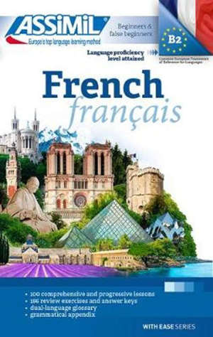French : language proficiency level attained B2, beginners & false beginners = Français