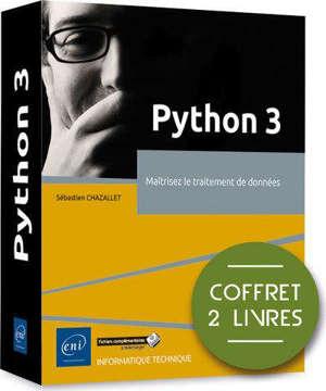 Python 3 : maîtrisez le traitement de données : coffret 2 livres