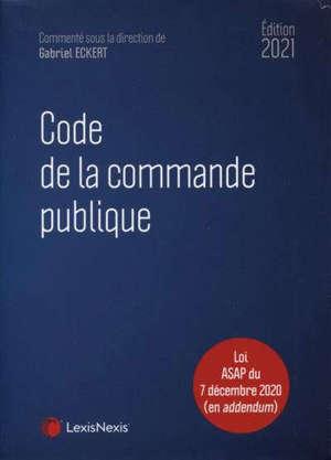 Code de la commande publique 2021