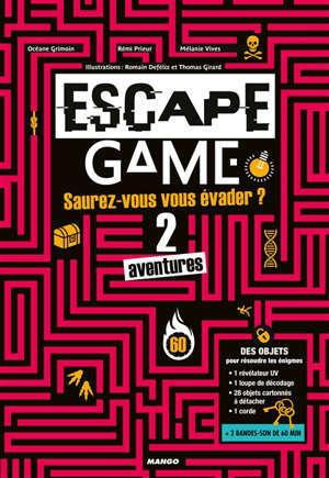Escape game : saurez-vous vous échapper de ces 2 aventures ?