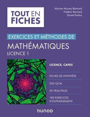 Exercices et méthodes de mathématiques licence 1