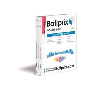 Batiprix 2021 : pack gros oeuvre : bordereau