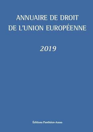 ANNUAIRE DE DROIT DE L UNION EUROPEENNE 2019
