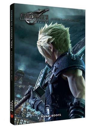 Final Fantasy VII remake : livre de cartes postales