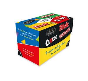 La boîte à quiz : Trivial Pursuit, Monopoly, Risk, Cluedo