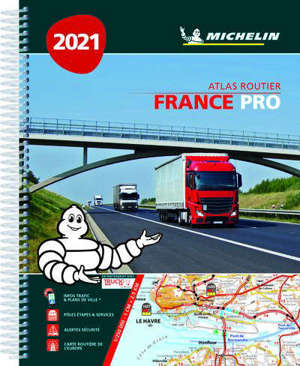 France pro 2021 : atlas routier = France pro 2021 : road atlas = France pro 2021 : Strassenatlas