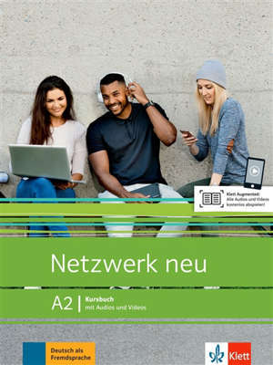 Netzwerk neu A2 : livre de l'élève avec audio et vidéo