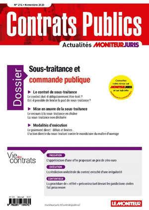 Contrats publics, l'actualité de la commande et des contrats publics. n° 214
