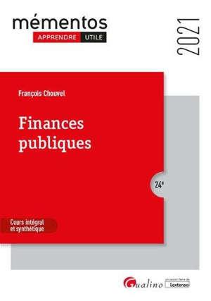 Finances publiques 2021