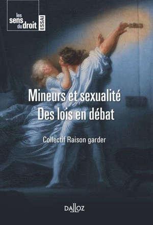 Mineurs et sexualité : des lois en débat