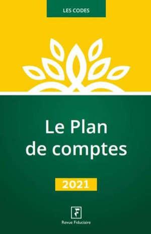 Le plan de comptes : 2021