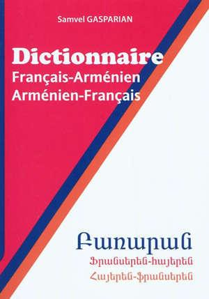 Dictionnaire français-arménien, arménien-français : 40.000 mots et expressions