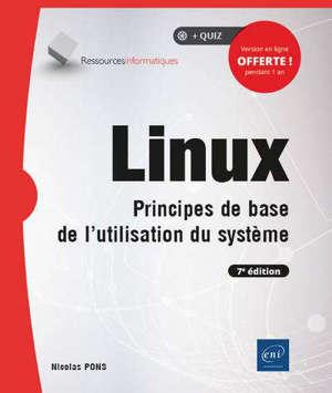 Linux : principes de base de l'utilisation du système