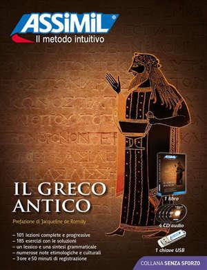 Il greco antico : superpack : 1 libro + 4 CD audio + 1 chiave USB