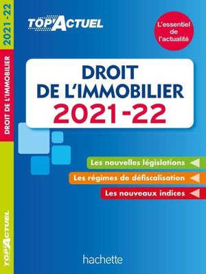 Droit de l'immobilier : 2021-2022