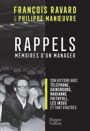 Rappels : mémoires d'un manager