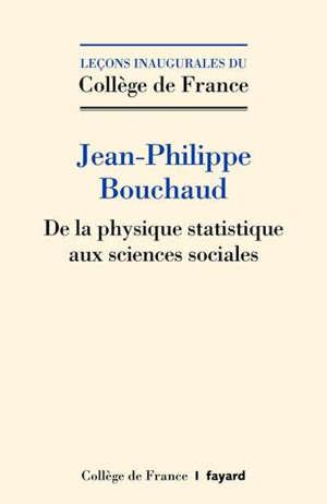 De la physique statistique aux sciences sociales : les défis de la pluridisciplinarité