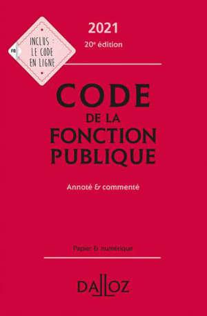 Code de la fonction publique 2021