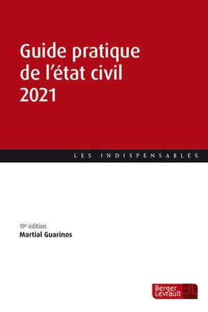 Guide pratique de l'état civil 2021