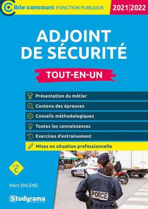 Adjoint de sécurité : tout-en-un, catégorie C : 2021-2022