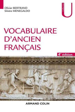 Vocabulaire d'ancien français : fiches à l'usage des concours