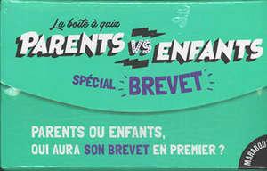 La boîte à quiz parents vs enfants : spécial brevet