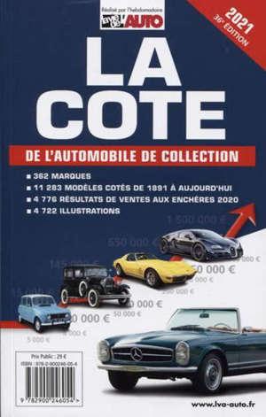 La cote de l'automobile de collection 2021