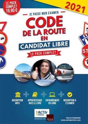Je passe mon examen code de la route en candidat libre : le pack complet