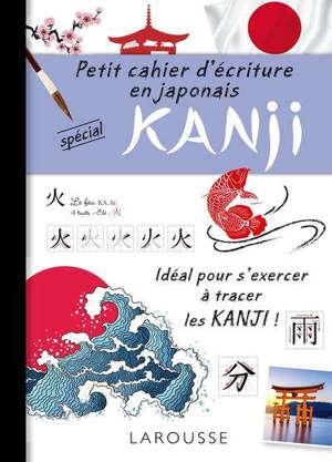 Petit cahier d'écriture en japonais spécial kanji