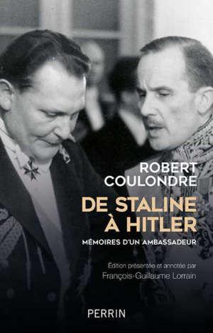 De Staline à Hitler : mémoires d'un ambassadeur : 1936-1939