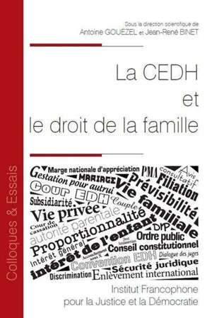 La CEDH et le droit de la famille
