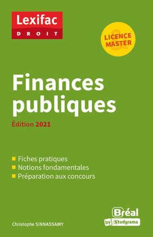 Finances publiques : licence & master