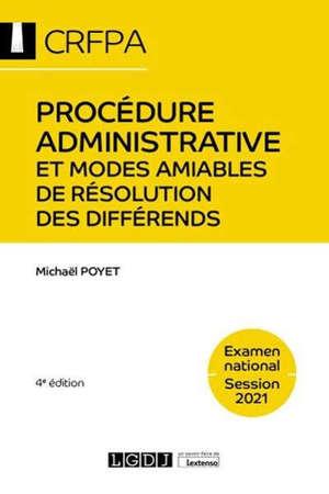 Procédure administrative et modes amiables de résolution des différends : examen national, session 2021