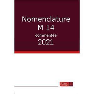 Nomenclature M14 commentée : 2021