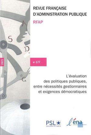 L'EVALUATION DES POLITIQUES PUBLIQUES - N 177
