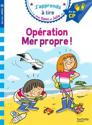 Opération mer propre ! : CP, niveau 3