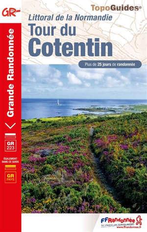 Tour du Cotentin : plus de 25 jours de randonnée, GR 223 : littoral de la Normandie