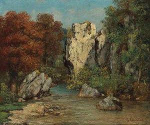 Gustave Courbet, l'école de la nature. Gustave Courbet : the school of nature