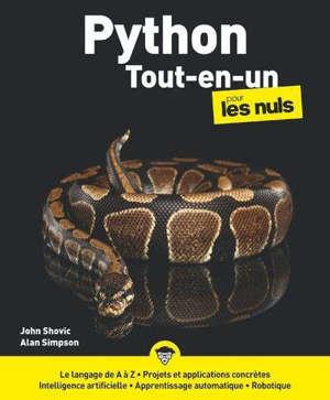 Python pour les nuls : tout-en-un