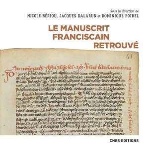 Le manuscrit franciscain retrouvé
