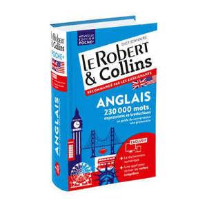 Le Robert & Collins anglais poche + : français-anglais, anglais-français