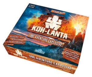 Koh-lanta : une aventure explosive : escape box